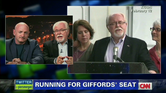 Ron Barber shows support for Obama
