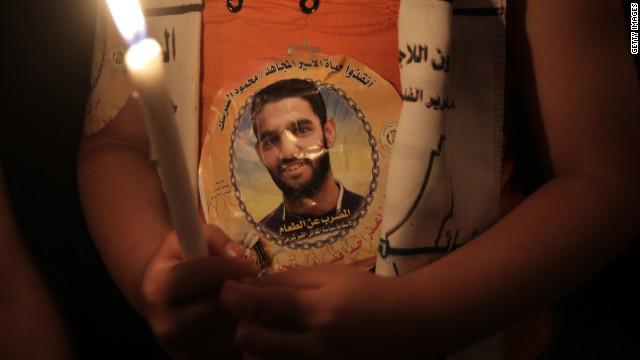 Palestine footballer Mahmoud Sarsak has been in prison in Israel since 2009.