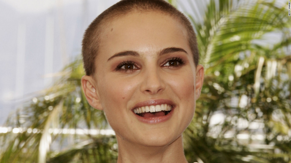 "Natalie Portman sported a buzz cut for 2005's ""V for Vendetta."""