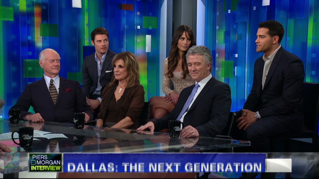 The cast of the new 'Dallas'