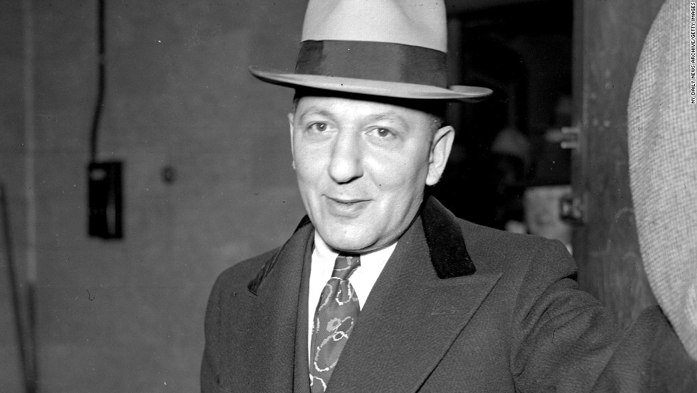 Mobster Louis Lepke Buchalter was one of the forces behind a hit squad known as Murder Inc. He died in the electric chair at New York's Sing Sing prison in 1944.
