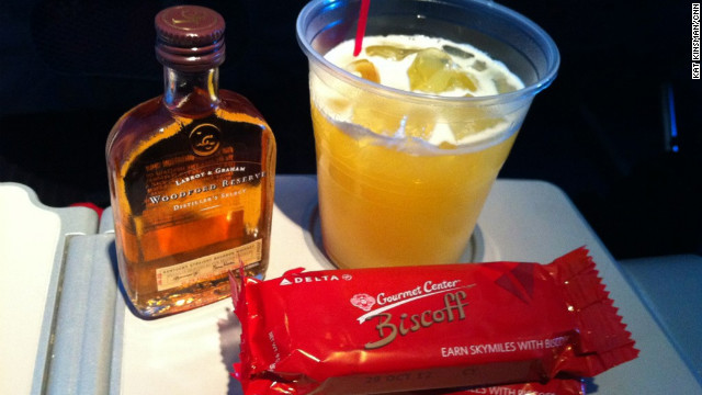 Don't underestimate the power of airline snack and beverage service.