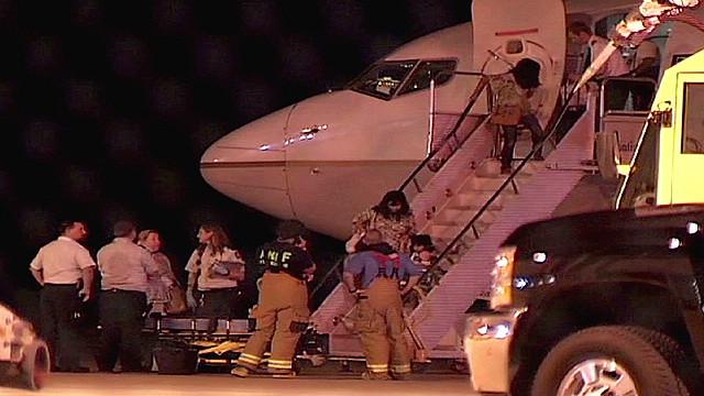 Passenger describes turbulence scare