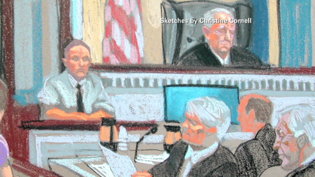 Sandusky trial sketches