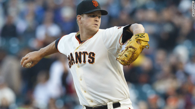 Giants pitcher talks perfection