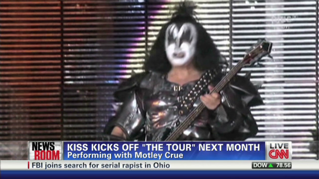 KISS, Motley Crue tour
