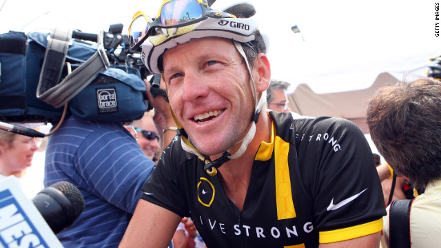 Cyclist Lance Armstrong and Olympic swimmer Eric Shanteau have both battled testicular cancer.