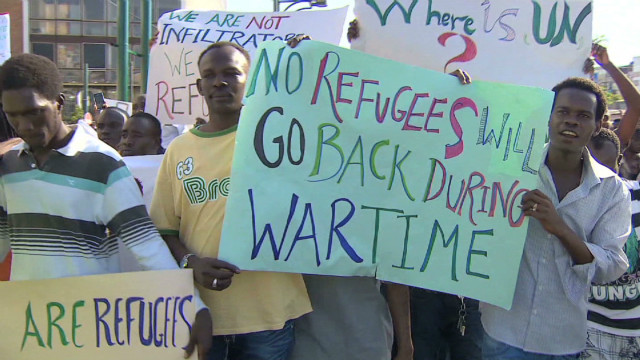 African migrants want to stay in Israel