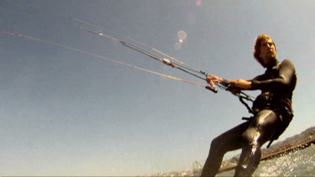 Kiteboarding: The birth of a new sport
