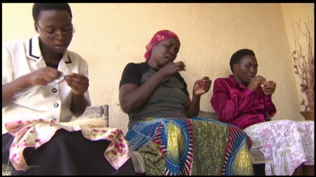 Champion for women in Rwanda