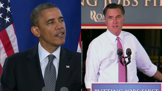 Obama, Romney clash in Ohio over economy
