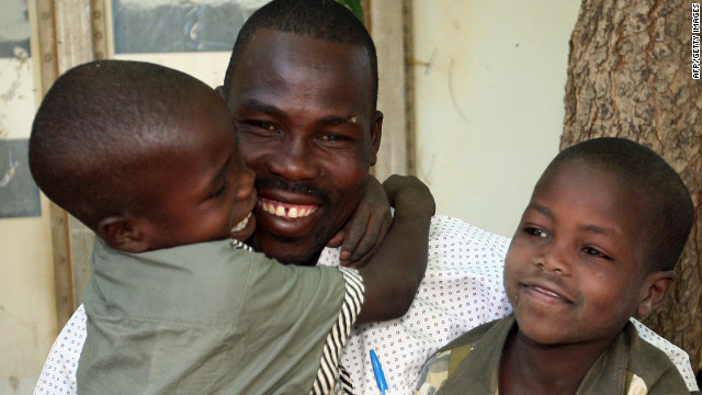 Ibrahim Abdul-Matin says young fathers have to be the best human beings they can be to deserve the joy of fatherhood.