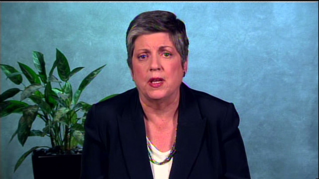 Napolitano: Congress needs to act