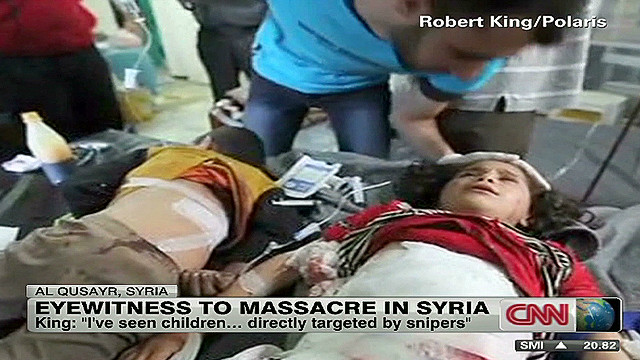 Photographer captures Syrian carnage