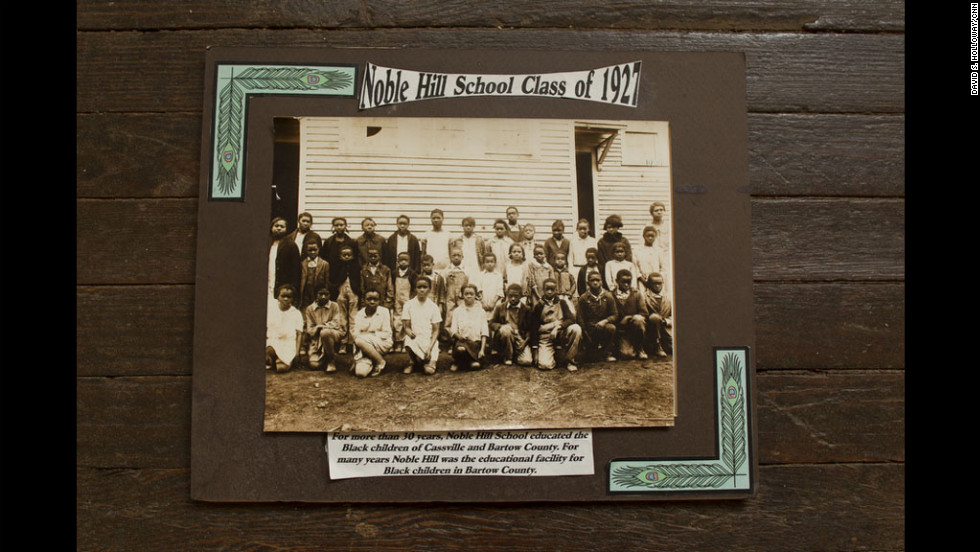 The Rosenwald school in Cassville, Georgia, was the first formal schoolhouse for African-Americans in the area. Before it was built, students were educated at home or church schools, if at all. The school opened in 1924, and closed in 1955.