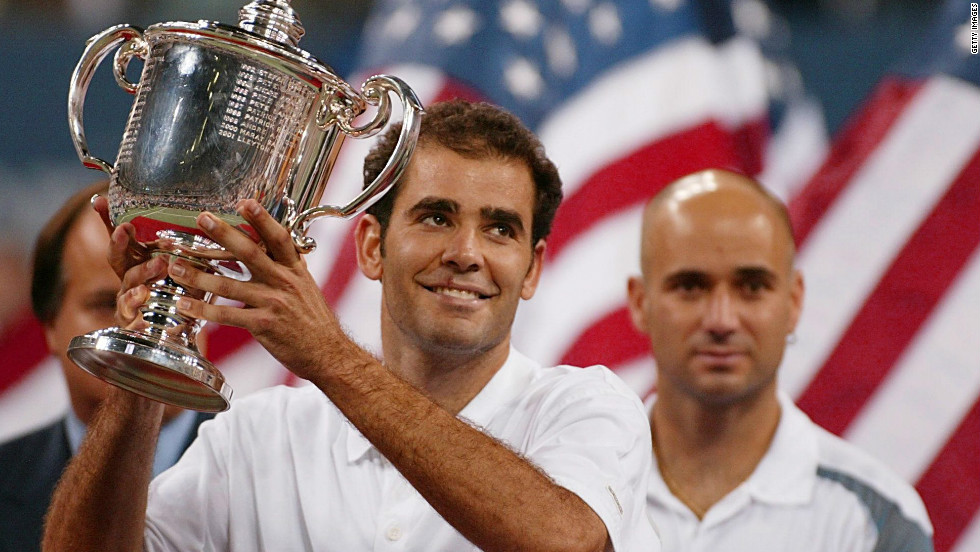 After that last Wimbledon triumph it would be two years until Sampras captured his 14th and final major, at the 2002 U.S. Open. He defeated his arch rival Andre Agassi in the final.