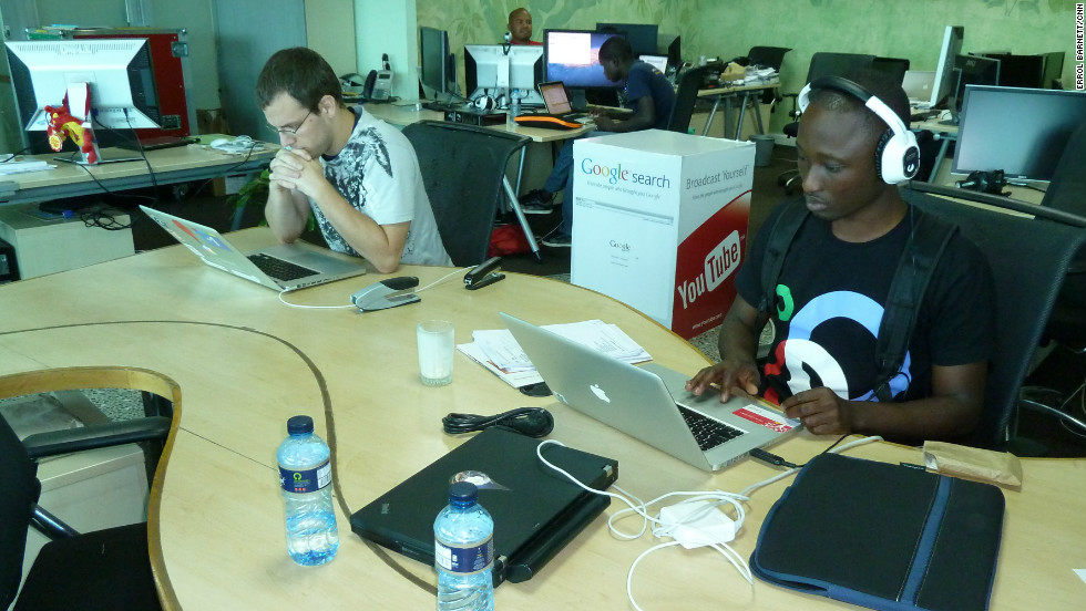 "iHub, featured on the show, is Nairobi's innovation hub for technologists, young entrepreneurs, investors, tech companies and hackers in the area. Described by those who run it as ""part open community workspace, part vector for investors and VCs and part incubator."""