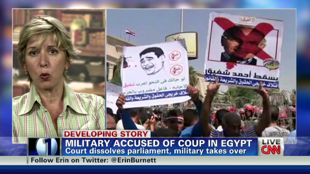 Coup in Egypt, U.S. 'stands idly by'