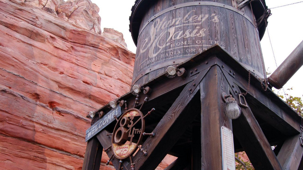 Little details add to the atmosphere in Radiator Springs.