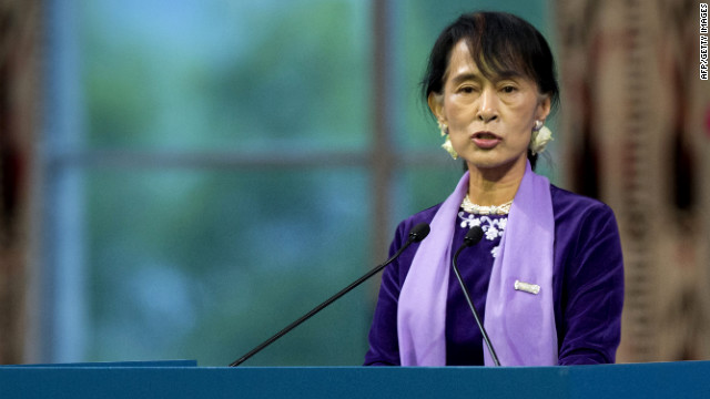 Suu Kyi: Prize gave me less lonely path