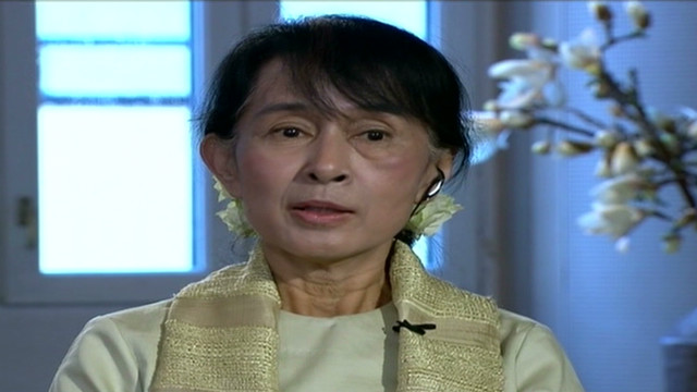 Suu Kyi reflects on Nobel win