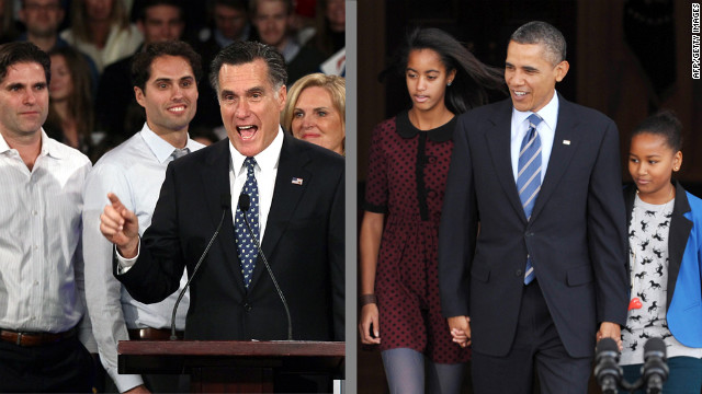 Mitt Romney grew up in the shadow of a larger-than-life father; Barack Obama pieced together the story of his absent dad.
