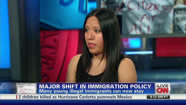Child of illegal immigrants speaks out