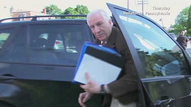 Mother of Sandusky accuser testifies
