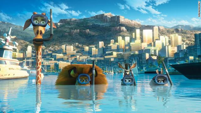 """A still from """"Madagascar 3."""""""