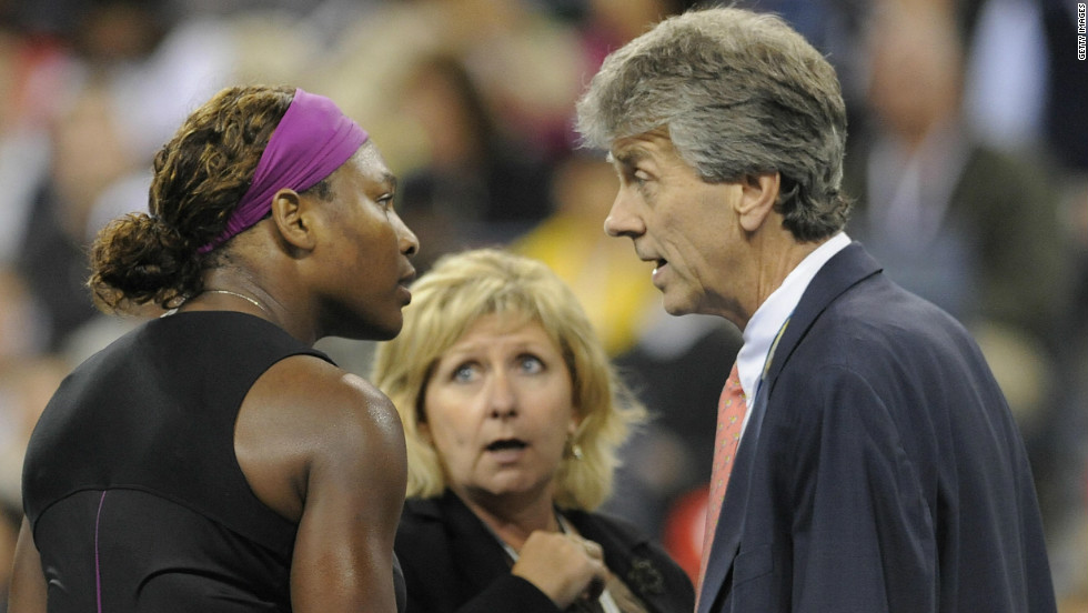 "During her 2009 U.S. Open semifinal against Kim Clijsters, Serena Williams unleashed a verbal assault on an official which result in a hefty fine and a two-year suspended ban. Williams repeated the episode in last year's New York final, calling the umpire ""ugly on the inside"" during her defeat to Samantha Stosur."