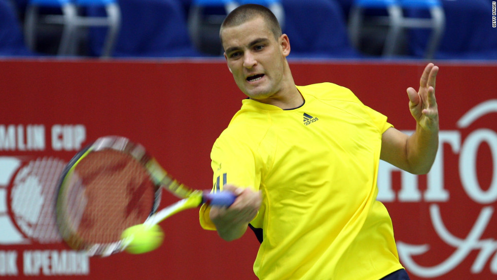 While many players have taken their anger out on rackets and advertising boards, Mikhail Youzhny is one of the only tennis stars to physically attack themselves. The Russian drew blood after hitting himself in the head with his racket during a match with Nicolas Almagro in 2008.
