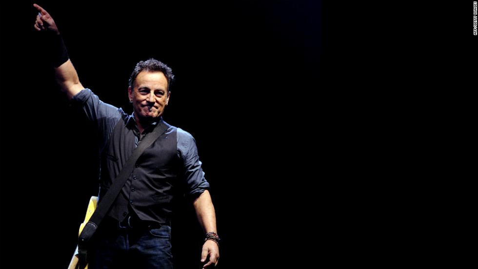 Bruce Springsteen performs in Seville, Spain, in May 2012.