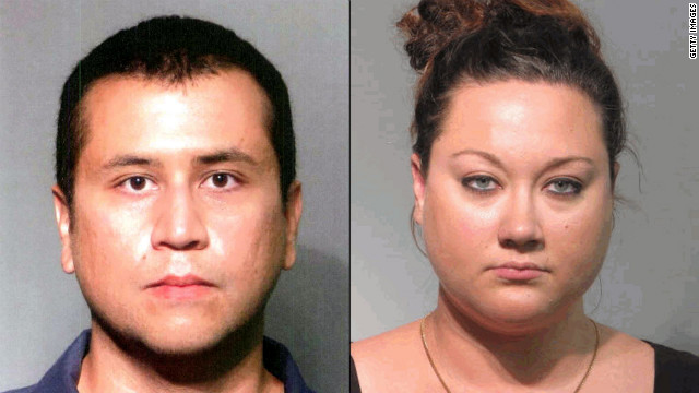 Despite telling the court they were indigent, George Zimmerman and his wife Shellie, right, discussed -- in code -- money raised online to help in his defense on second-degree murder charges, transcripts of jailhouse phone calls released Monday show.