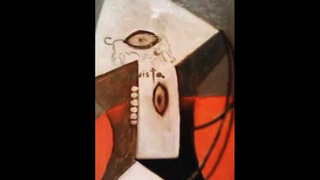 Caught on video: Man spray paints Picasso