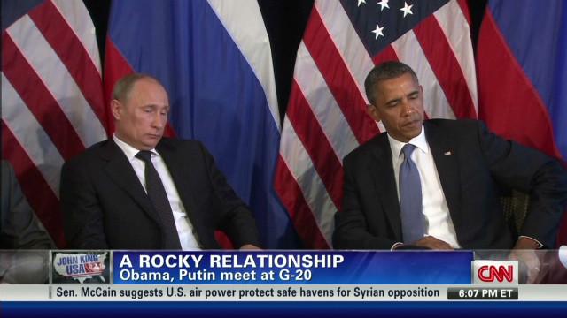Rocky relationship for Obama, Putin