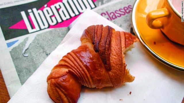 Finding the best croissant in Paris