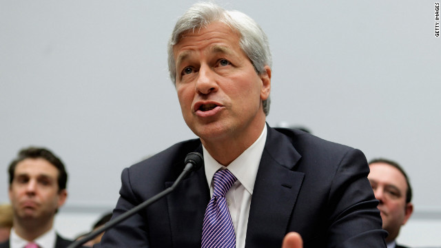 JPMorgan CEO back in the hot seat