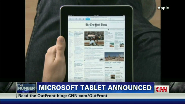 Microsoft unveils iPad rival