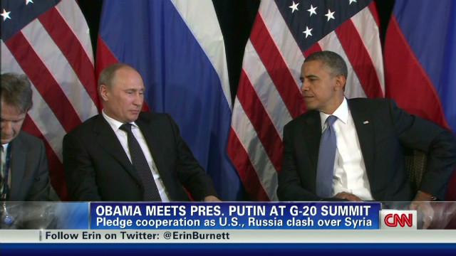 Obama, Putin G20 meeting