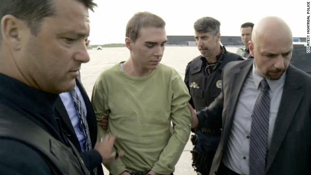 Luka Rocco Magnotta, accused of killing and dismembering 33-year-old Jun Lin, plead not guilty to all charges Tuesday.