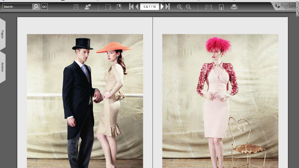 For Royal Ascot 2012, organizers have issued a style guide to advise race goers on how to dress for the annual meeting. Gentlemen in the Royal Enclosure must wear black or grey morning dress.