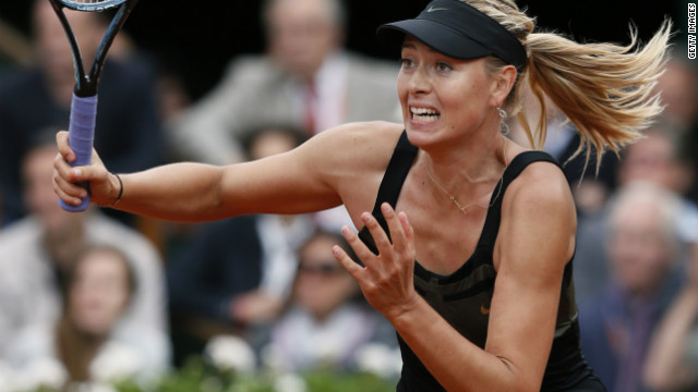 Top seed Maria Sharapova was beaten by Petra Kvitova in last year's Wimbedon final.