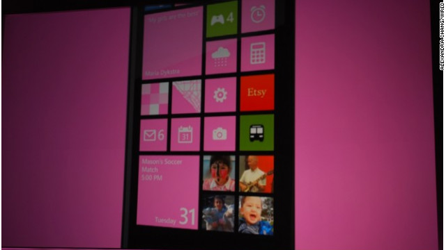 "Windows Phone 8's Live Tiles are its ""heart and soul,"" program manager Joe Belfiore said."