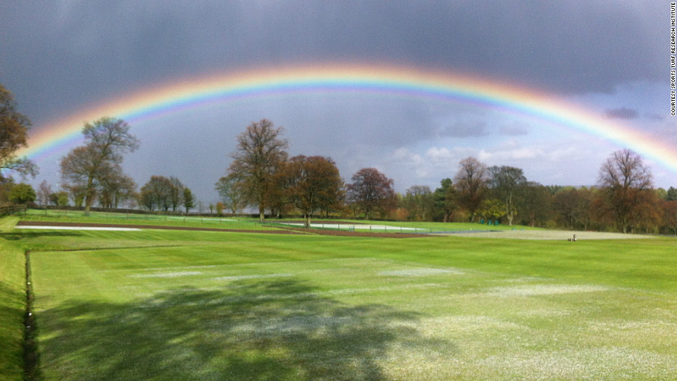 West Yorkshire provides a picturesque setting for the Sports Turf Research Institute (STRI) headquarters where many of the world's sports pitches are developed.