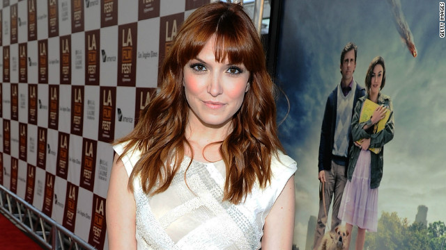 """Lorene Scafaria attends the premiere of """"Seeking a Friend for the End of the World"""" in Los Angeles."""