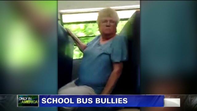 """Only in America"": School bus bullies"