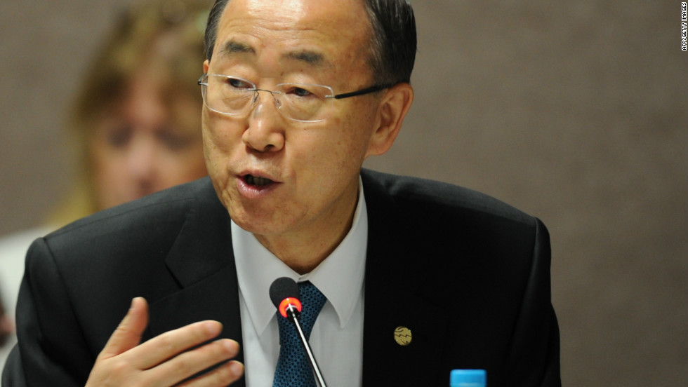 "Under the stewardship of U.N. Secretary-General, Ban Ki-moon (pictured) and Brazil's President Dilma Rousseff, governments have been negotiating over measures and actions laid out in ""The Future We Want"" -- a 53-page document which commits governments to creating a more sustainable path of development."