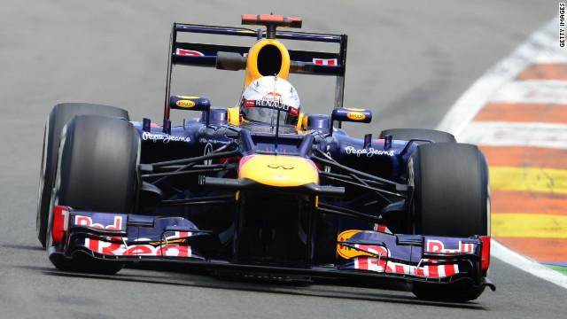 Red Bull's Sebastian Vettel took victory at the Bahrain Grand Prix in April.