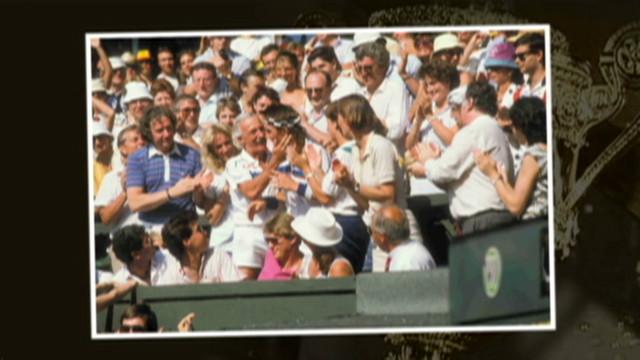 Pat Cash's Wimbledon climb