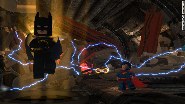 "Superman and more than 50 other heroes help out the Caped Crusader in ""Batman 2: DC Super Heroes."""